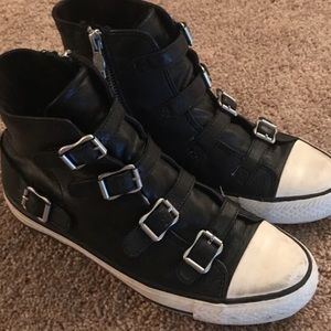 ASH virgin leather sneakers